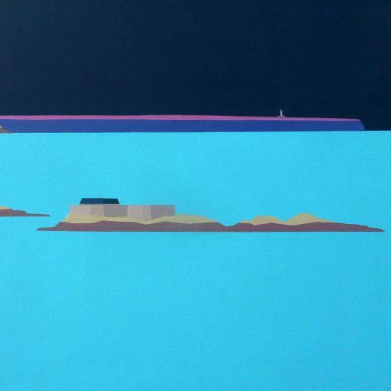 le fort de l'île Harbour - Lalatte - Frehel 92x65