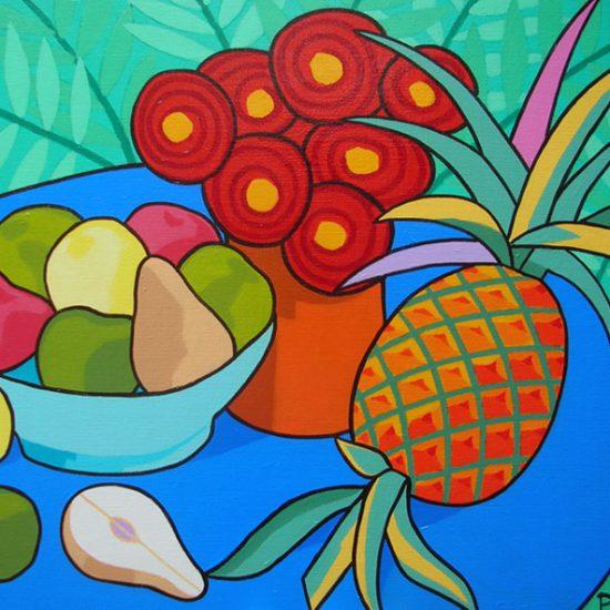L'ananas 100x81