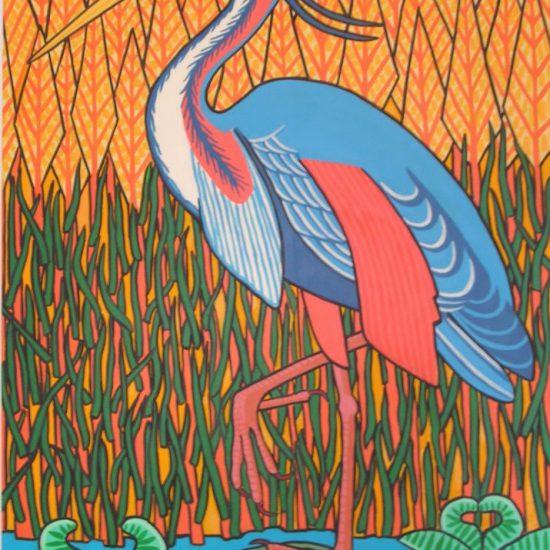 Le Heron 116x81