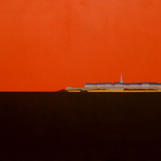 St Malo soleil couchant 1  73x54