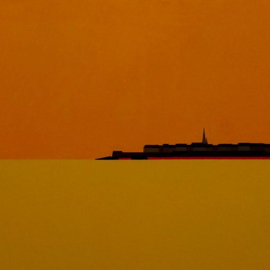 St Malo soleil couchant 2  73x54