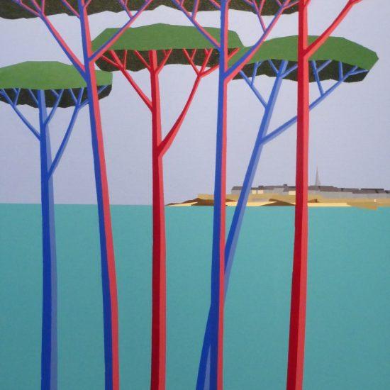 Les pins maritimes de St Malo 92x65